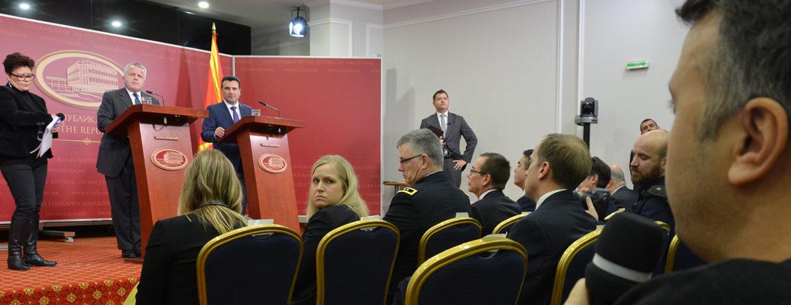 Press Availability With Prime Minister Zaev