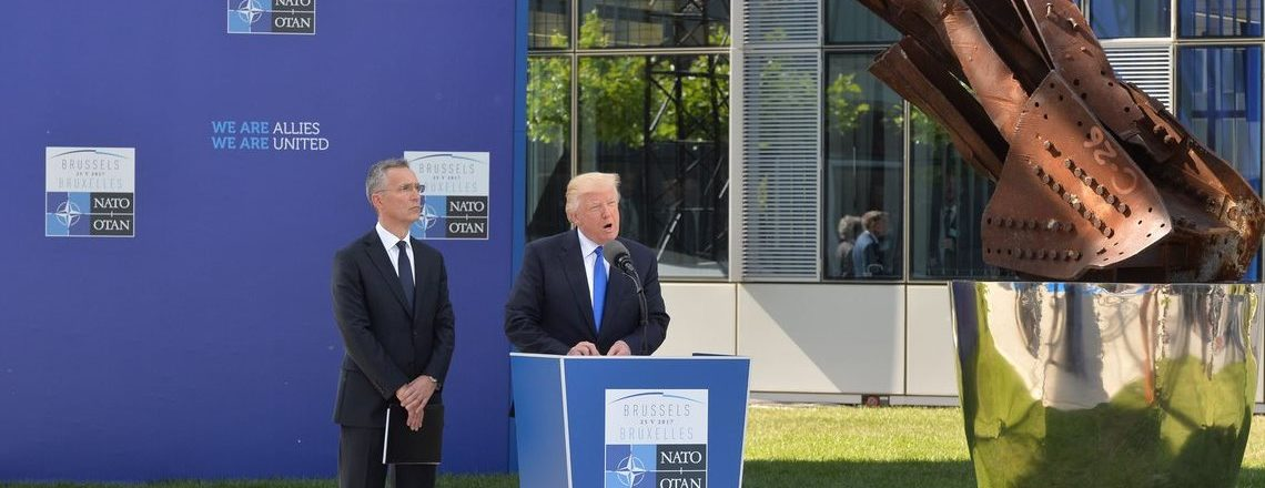 NATO Unveiling of the Article 5 and Berlin Wall Memorials