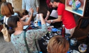 USAID-funded Migrant and Refugee Human Rights Protection Project's Humanitarian Art Bazaar
