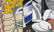 Mural në rrugën Greene, 1983, nga Roy Lichtenstein (© Prona e Roy Lichtenstein. Foto e Galerisë Gagosian)