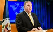 Më 29 maj 2018, me rastin e publikimit të Raportit ndërkombëtar të lirive fetare, sekretari i shtetit Mike Pompeo mbajti fjalim në Stejt Departament në Uashington. [Fotografi e Stejt Departamentit]